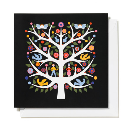Greeting card Tree of Life by Vitra
