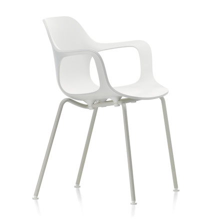 Hal Tube Armchair by Vitra in white