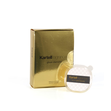 Fragrance capsules ghost diamond by Kartell