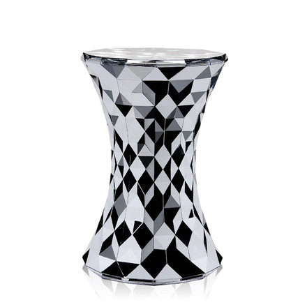 Kartell - Stone Stool, chrome-plated