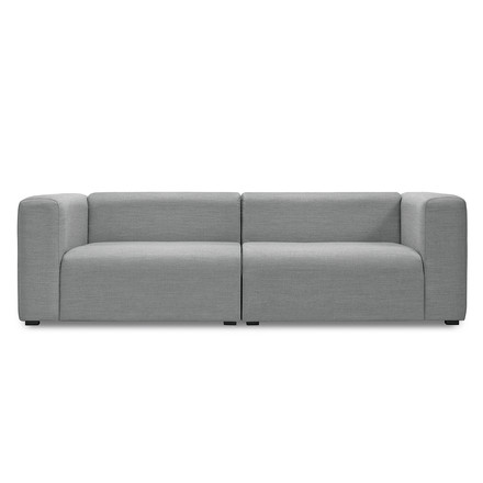 Hay - Mags Sofa without buttons, 2.5-seater, Surface 120 light grey
