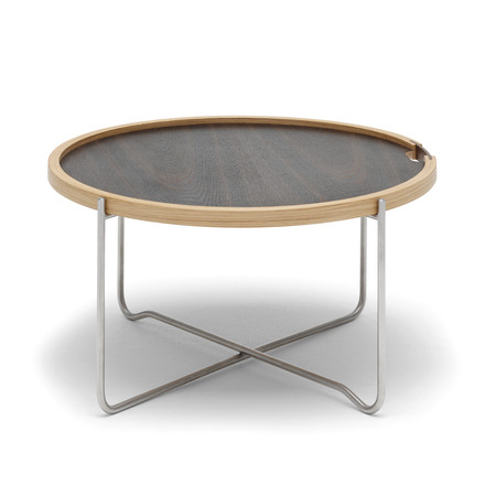 Folding table with turning top by Carl Hansen