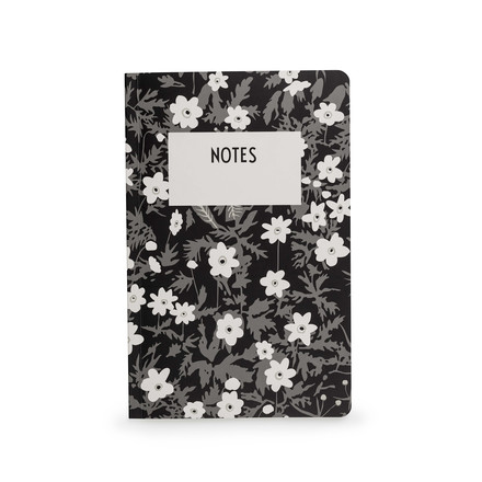 AJ Vintage Flowers Notebook in L by Design Letters