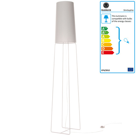 frauMaier - Slimsophie Floor Lamp LED white