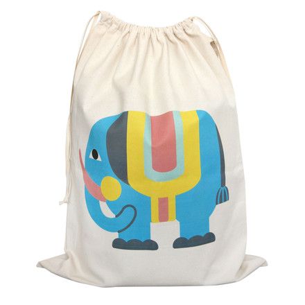 Bag for Toys with Elephant from byGraziela