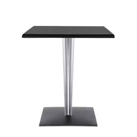 Top Top Table 60 x 60cm by Kartell in black