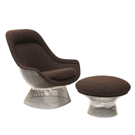 Knoll - Platner Easy Chair and Ottoman
