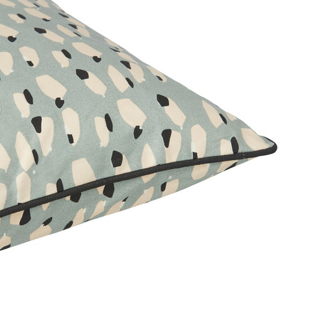 Spotted Cushion 50 x 50 cm by ferm Living in Pigeon Blue