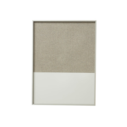 Frame pin board by ferm Living in grey