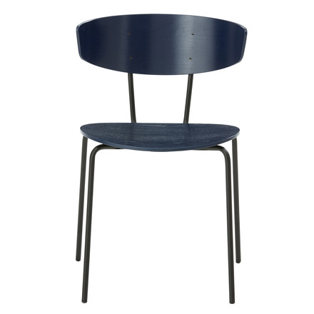 Herman Chair by ferm Living in Blue
