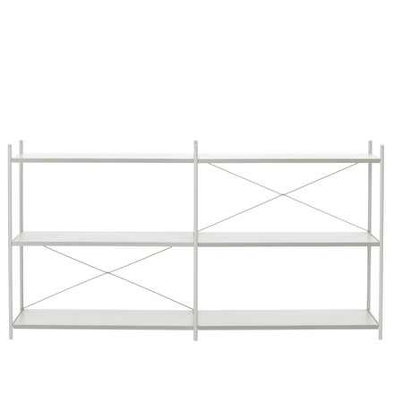 Punctual Shelving System 2x3 by ferm Living in Grey