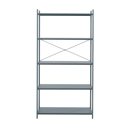 Punctual Shelving System 1x5 by ferm Living in Dark Blue