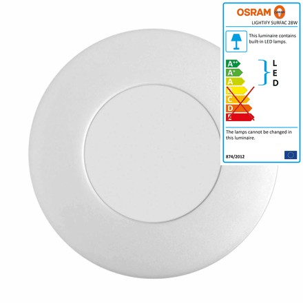 Lightify Surface Light Ceiling and Wall Lamp 28 W by Osram
