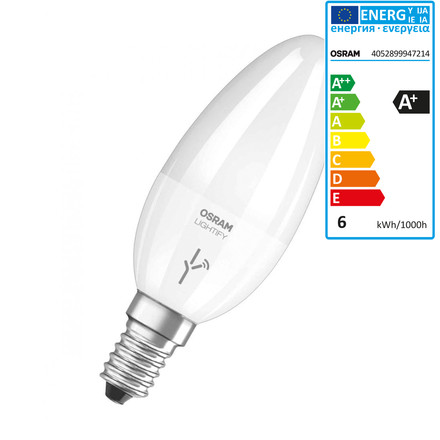 Lightify LED Classic B 40 Tunable White by Osram