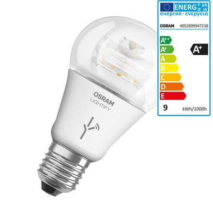 Lightify LED Classic A 60 in Tunable White by Osram