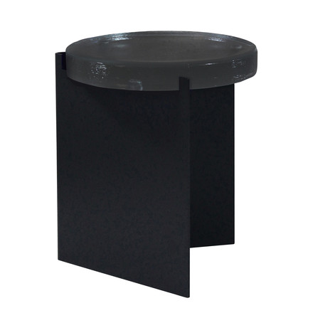 Alwa I Side Table by Pulpo in dark