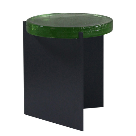 Alwa I Side Table by Pulpo in green