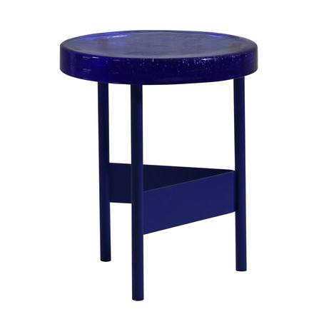 Alwa II Side Table by Pulpo in blue