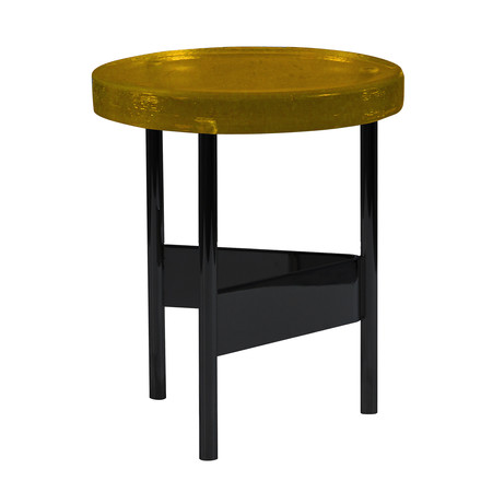 Alwa II Side Table by Pulpo in yellow