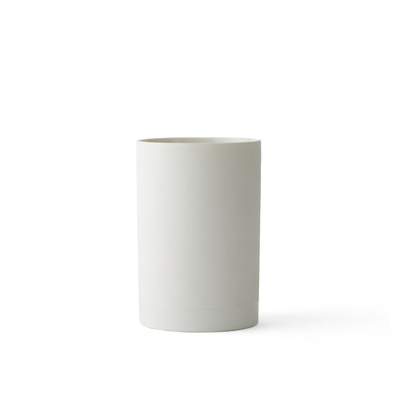 The Cylindrical Vase S by Menu in white
