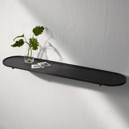 The Wall Tray L by Menu in oak dark