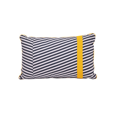 Fermob - Outdoor Cushion Cabourg, night grey