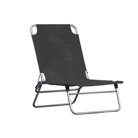 Fiam - Piccolina Beach Folding Chair, black