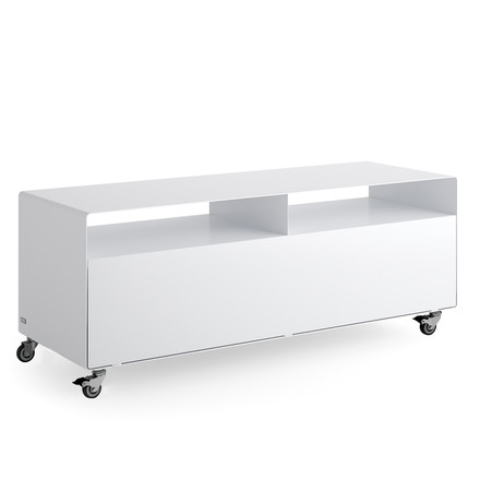 Müller Möbelfabrikation - R 109N Sideboard with door and industy castors