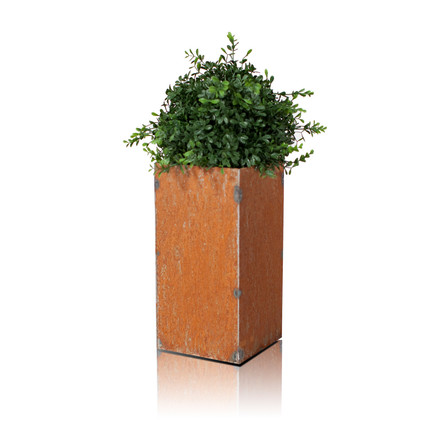 Linné Planting Pot 40 x 80 x 40 cm by Röshults made of iron