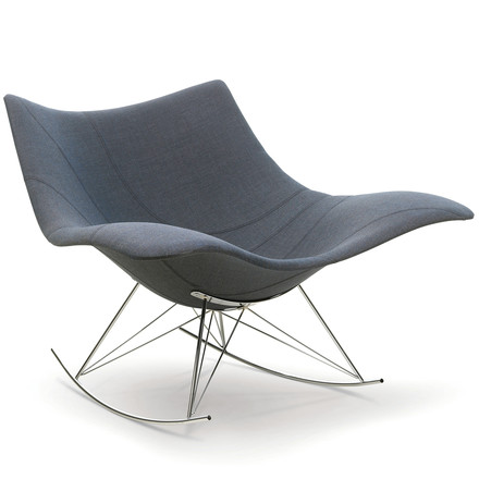 Stinggray Rocking Chair by Fredericia in Grey