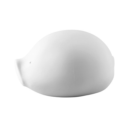 The Roro money box with lock in white by Rosenthal