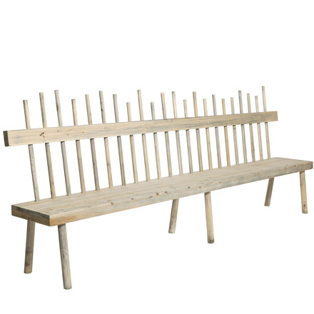 The Broomstik Garden Bench by Freeline in the length 180cm