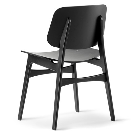Søborg Chair by Fredericia in black