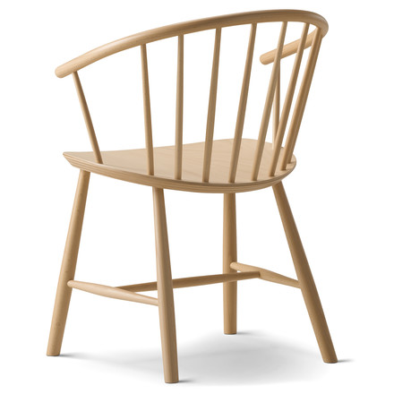 J64 Chair by Fredericia in Natural Beech