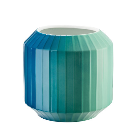The Hot Spot vase in Coastal Shades, 22cm by Rosenthal