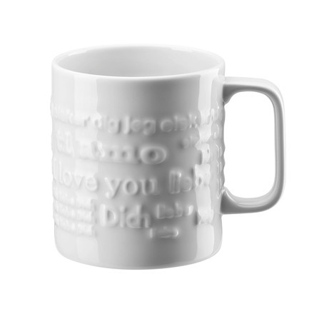 The 'Love Love' mug with handle, large, 0.57 l by Rosenthal.