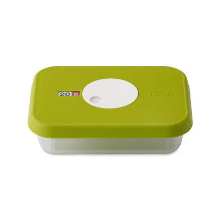 Dial Storage Container rectangular 0.7 l by Joseph Joseph