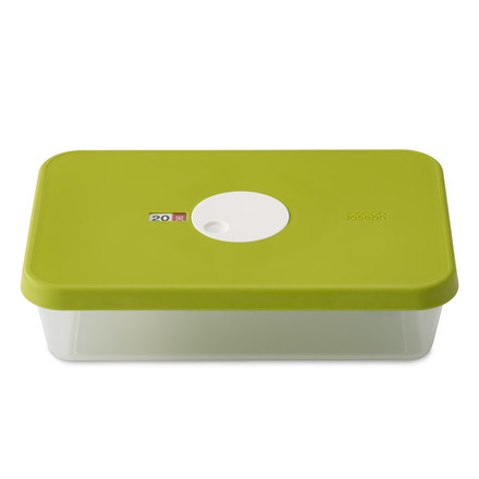 Dial Storage Container rectangular 2.4 l by Joseph Joseph