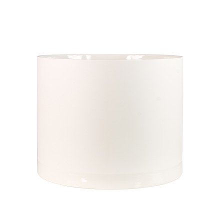 Menu - Cylindrical Planter L, white