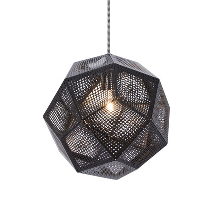 Tom Dixon - Etch pendant fitting, black