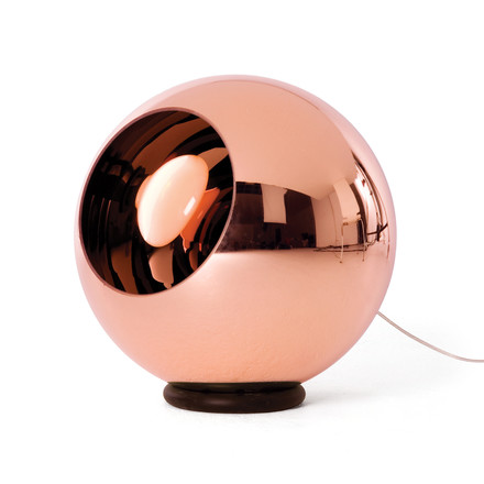 Copper Floor Lamp Ø 45cm by Tom Dixon with copper layer