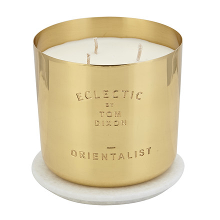Scent scented candle Orientalist in large by Tom Dixon