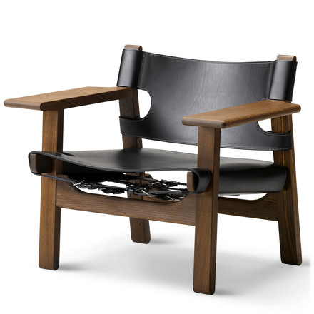 Spanish Chair by Fredericia in oak / black