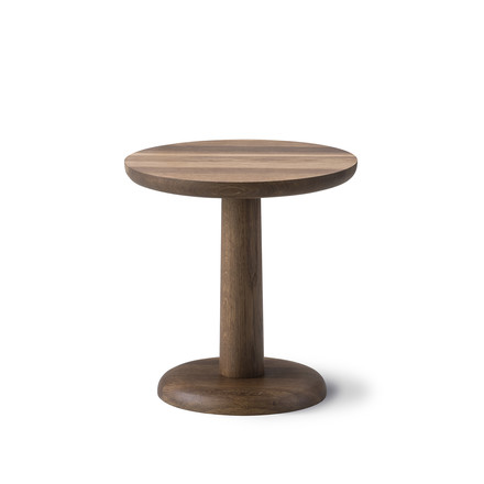 Pon Side Table 46.5cm by Fredericia in smoked oak