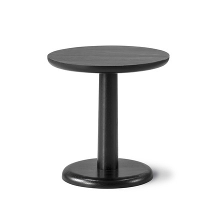 Pon Side Table 46.5cm by Fredericia in black oak