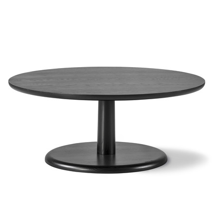 Pon Side Table - large, by Fredericia in black oak