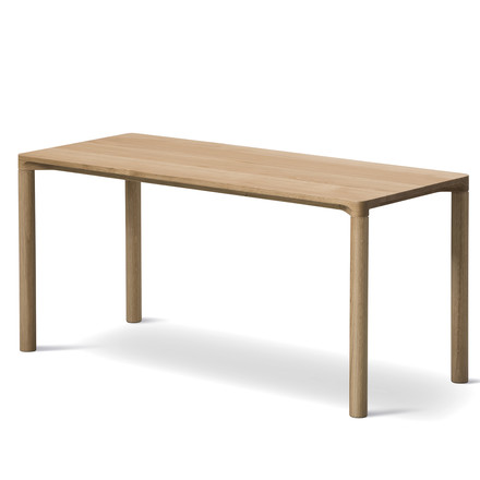 Piloti Coffee Table 31 x 75cm by Fredericia in Oak