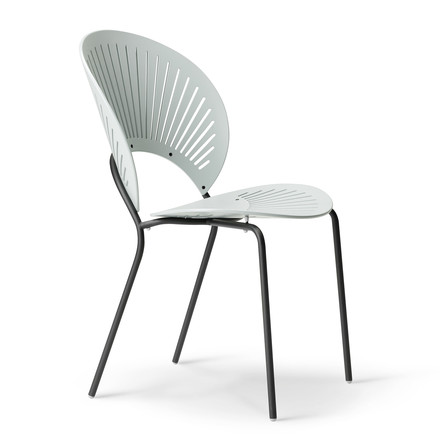 Trinidad Chair by Fredericia in Light Blue