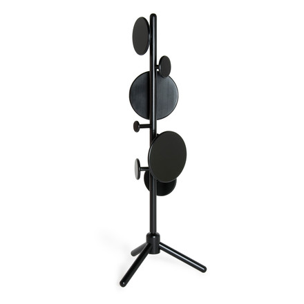 Peg Coat Stand by Tom Dixon in black birch wood