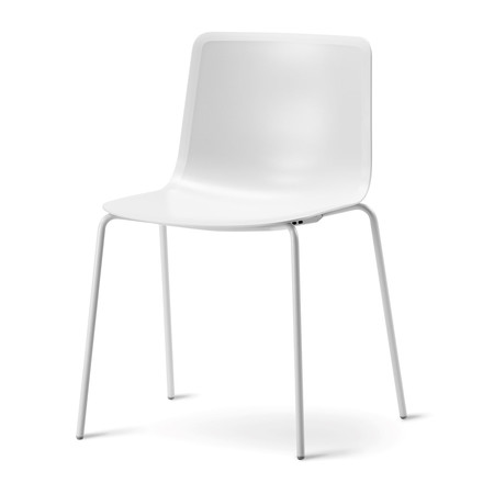 Pato 4 Leg Chair by Fredericia in white